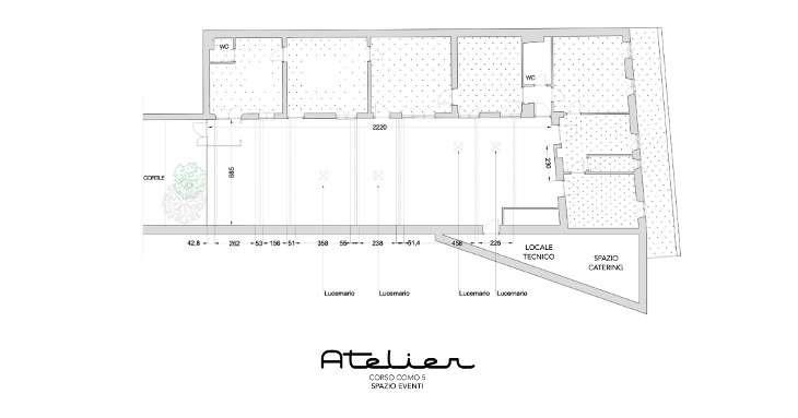 Milano - Atelier Corso Come 5 - Spazio Eventi