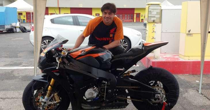 Motociclismo Andrea Tassan