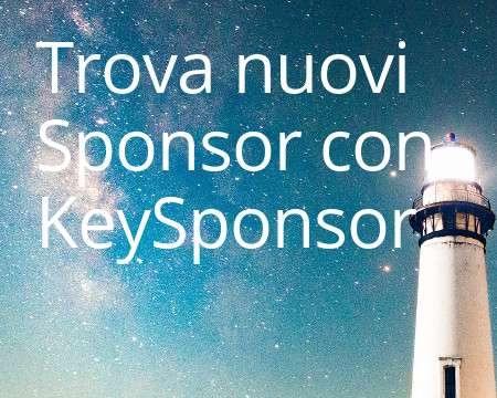Trova sponsor con keysponsor