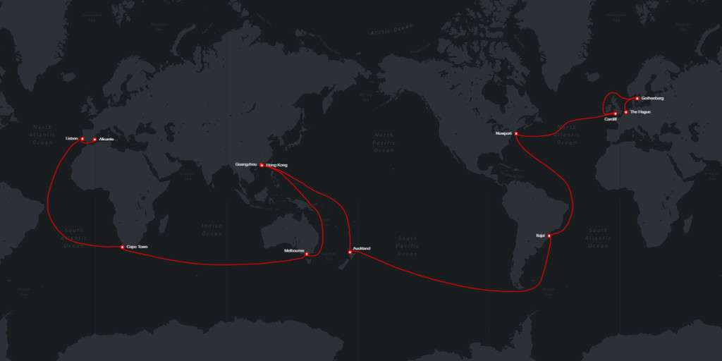 Percorso Volvo Ocean Race 2017