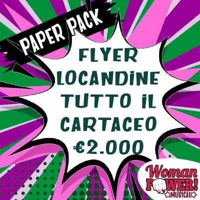 Woman Power il Musical - Paper Pack