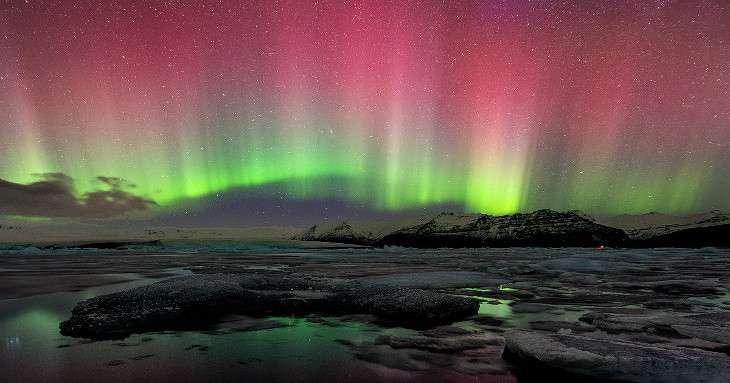 Spedizione a caccia dell'aurora boreale
