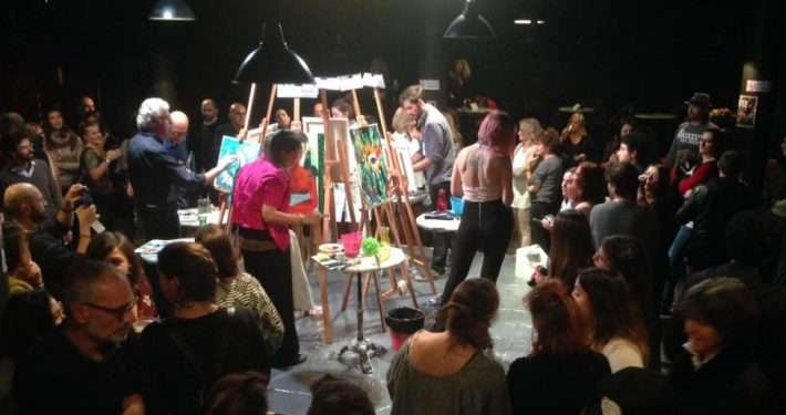 Art Battle a Genova