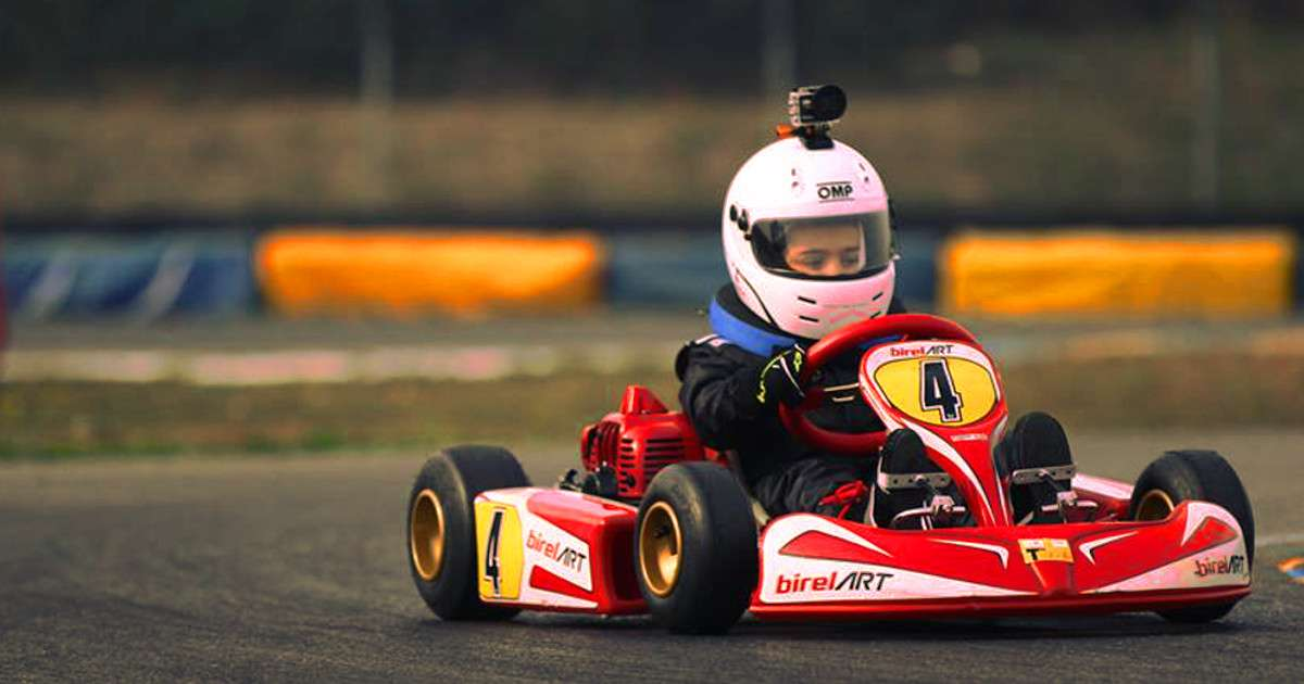 Mattia Muoio - Pilota EasyTraining - Karting