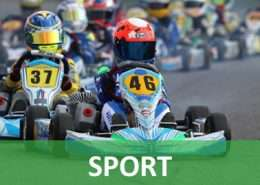 Davide Vuano cerca sponsor per il suo Go-Kart