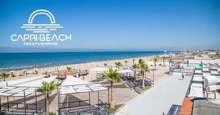 Capri Beach offre spazi pubblicitari - Panoramica