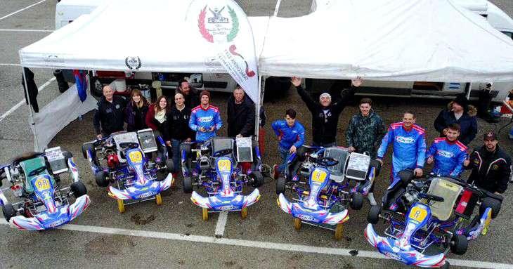 Kart: Lorenzo Tocci cerca sponsor