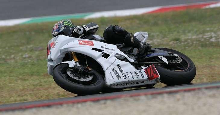 Santino Puglisi, motociclista, offre spazi per Sponsor
