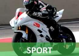 Santino Puglisi, motociclista, offre spazi per la tua azienda