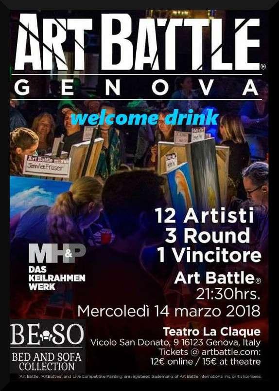Art Battle - Genova - 14 Marzo 2018