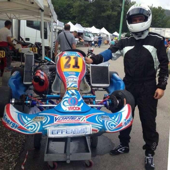 Kart: Michele Lunardi cerca Sponsor con KeySponsor