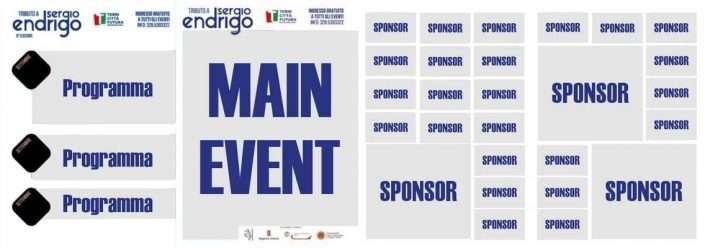 Sponsor - Pieghevole - Tributo Sergio Endrigo - Città di Terni