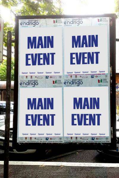Sponsor - Manifesti - Tributo Sergio Endrigo - Città di Terni