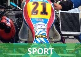 Michele Lunardi cerca sponsor per il suo Go-Kart