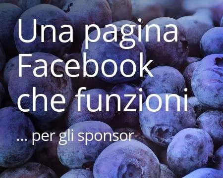 Una Pagina Facebook che funzioni per gli Sponsor
