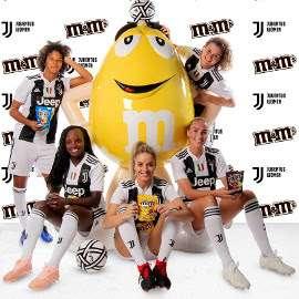 #SponsorWeek - nr.7 - M&Ms e Juventus Women