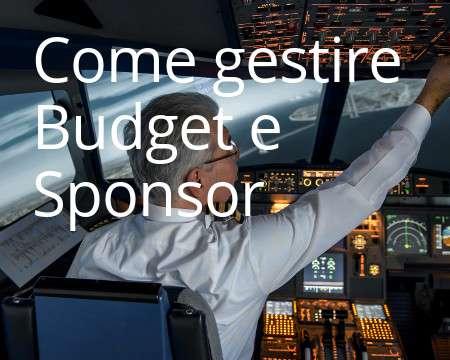Come gestire budget e sponsor