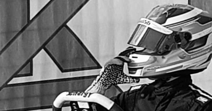 Davide Marconato pilota di GoKart