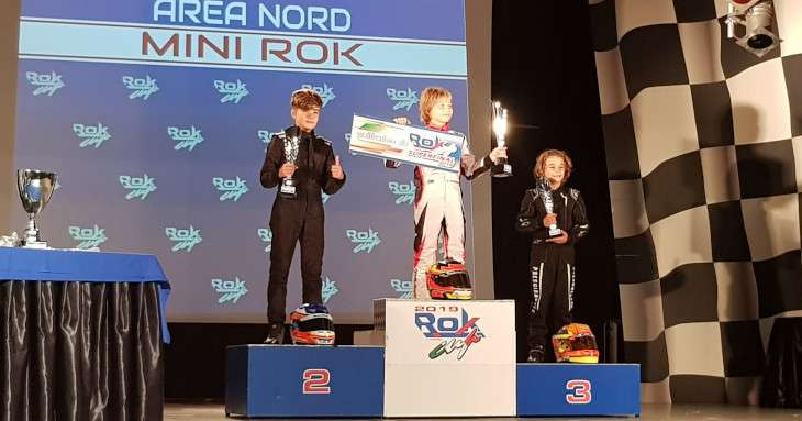 Davide Marconato 2° classificato al Mini Rok 2019