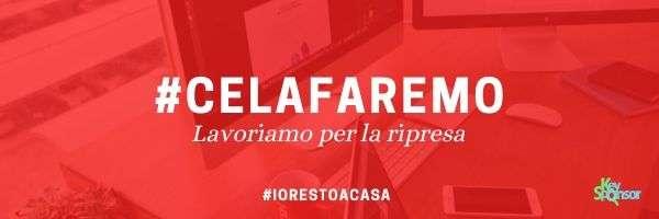 #CELAFAREMO - Lavoriamo per la ripresa - Ricerca Sponsor