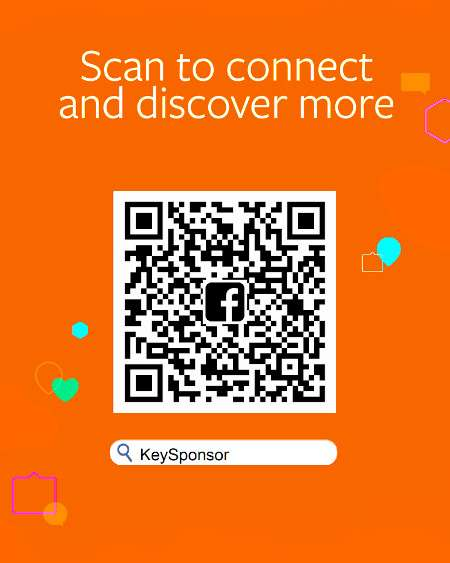 KeySponsor su Facebook - QR Code